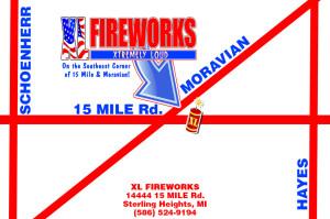 XL Fireworks - Metro Detroit fireworks